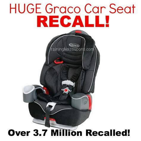 safety air car seat recall graco car seat recall 2014