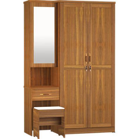 Lemari Pakaian Dan Meja Rias jual lemari pakaian 2 pintu meja rias lpmr 8223 harga