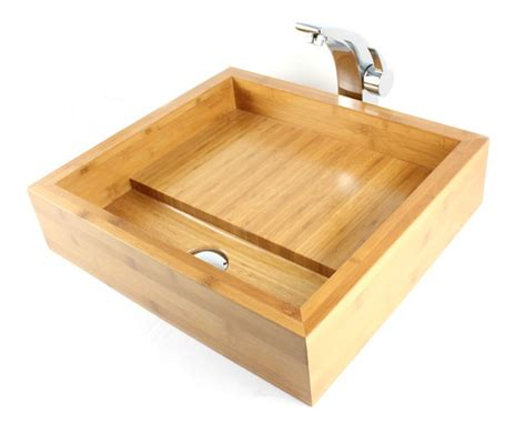 Bamboo Kitchen Sink Bamboo Sink Befon For