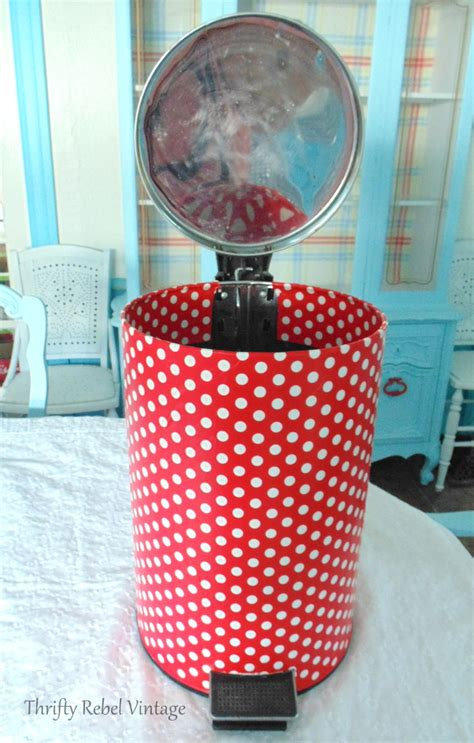 Decoupage Trash Can - decoupage trash can 28 images using napkins i m