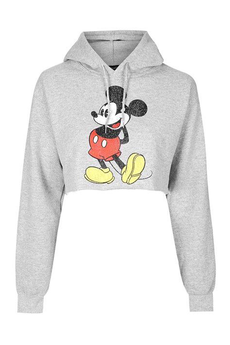I Mickey Crop Rumbai Tshirt mickey mouse vintage cropped hoodie topshop hoodie and