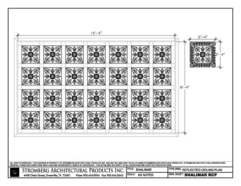 Ceiling Plan Dwg by Shalimar In San Jose Cacad Files Dwg And Pdf
