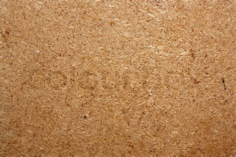 Dust Board up of a compressed sawdust board stock photo
