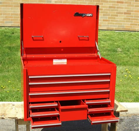 snap on kra62c top tool chest road heavy duty 10 drawers