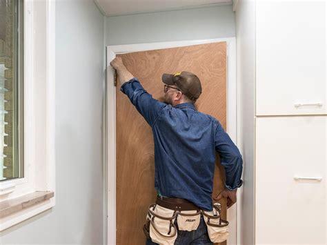 how to hang a interior door how to hang a door in an existing jamb how tos diy