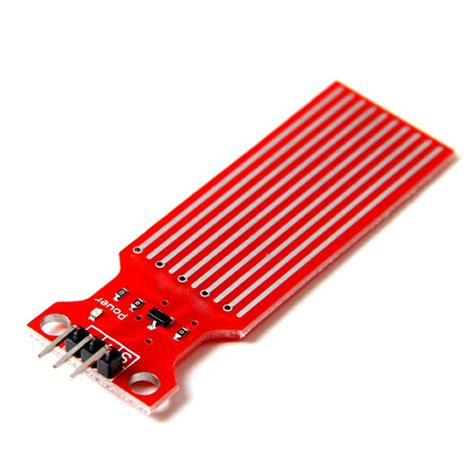 Water Level Detection Sensor Deteksi Hujan Ketinggian Air Arduino tutorial water sensor module menggunakan arduino