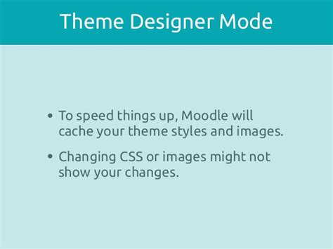 moodle theme cache theming moodle technical