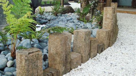 garten ideen steine gartengestaltung mit steinen einen wervollen garten schaffen