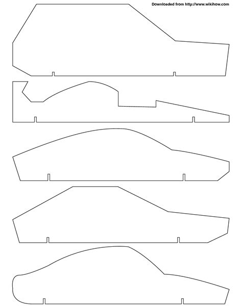 free pinewood derby template pinewood derby car design templates free calendar