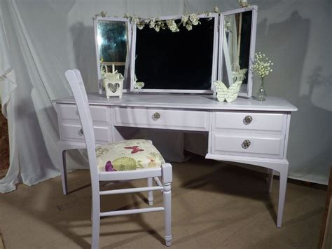 dressing table and chair stag dressing table and chair painted vintage antique