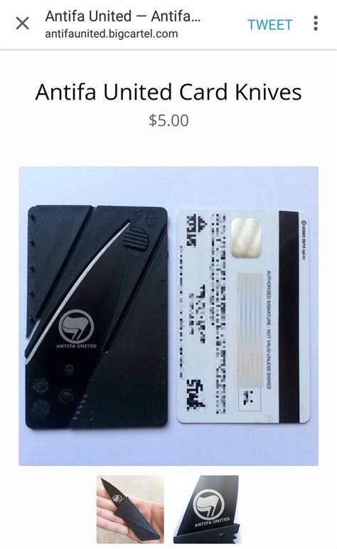 knife selling website antifa website selling concealed knives for slashing