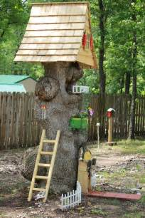 Diy Wall Bookcase Tree Stump Ideas For Furniture And Decorating