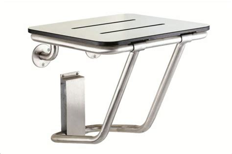 stainless steel shower seat folding shower seat stainless steel 15065 s ceramic