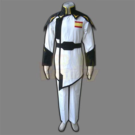 captain clothing deluxe gundam seed zaft army white captain clothing