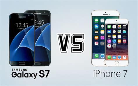 Samsung Galaxy S7 vs IPhone 7 Bagus Mana?   Harga HP Samsung