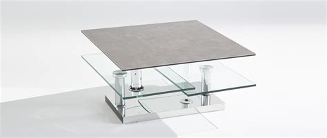 table basse square cuir center cuir center