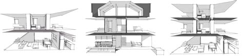 Row House Floor Plan by Modern House Plans By Gregory La Vardera Architect Row
