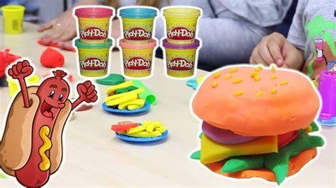 piastra per cucinare hamburger hasbro play doh giochi di cucina con la plastilina