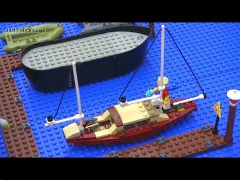 how to make a mini wooden boat lego small custom sailboat mini moc youtube
