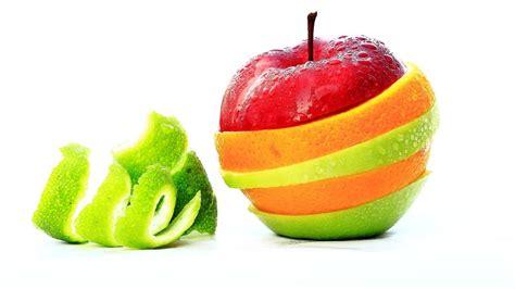 buscar variadas fotos digitales gratis banco de im 225 genes manzana frutas pieles capas colores fondo blanco creative foto