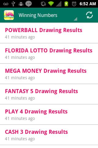 Florida Lotto Mega Money Winning Numbers - florida lottery results android apps on google play
