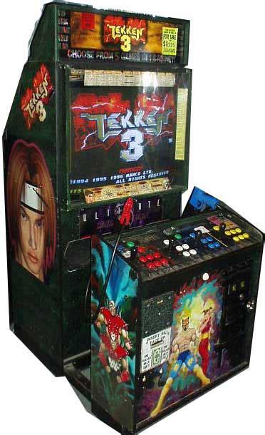 Tekken 3 Arcade Cabinet by 3