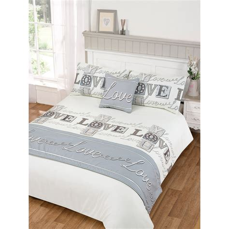love bed   bag duvet set double size bedding bedroom linen