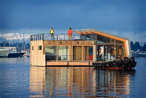 floating houses stunning houseboats for aquatic living
