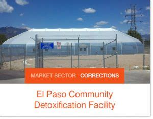 El Paso County Colorado Detox Facility by Correctional Facilities Building Inmate Housing