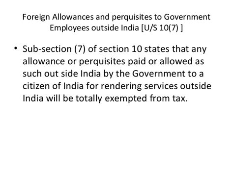gratuity exemption under section 10 lecture 4 income exempt from tax 5