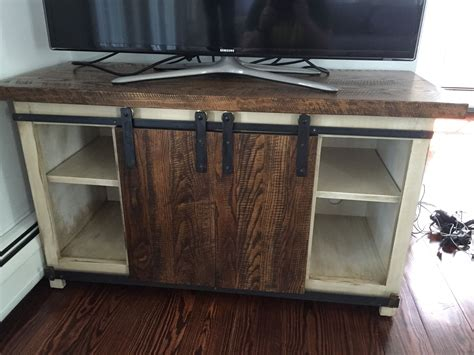 barn door media cabinet hand made barn door media cabinet by m karl llc