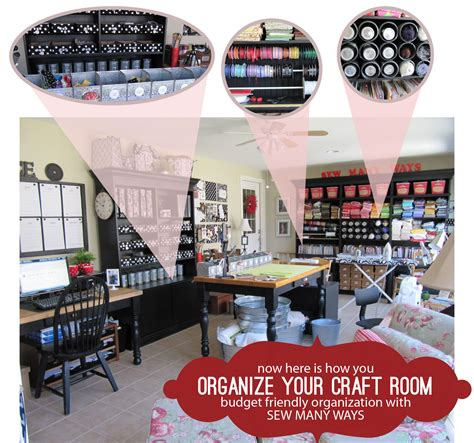 how to organize a craft room how to get organized
