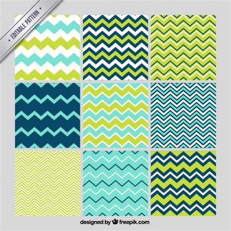 line pattern zig zag set of zig zag lines patterns vector free download