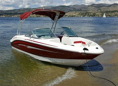 chaparral boat depth finder chaparral 18 quot h2o boat for sale from usa