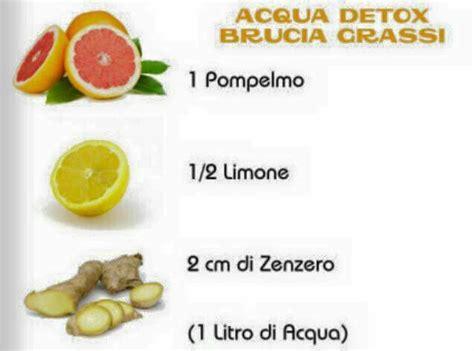 Dieta Detox Juice Plus Pdf by Acqua Detox Rimedi Naturali
