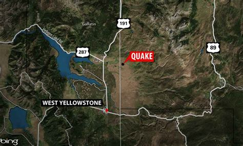 United Airlines Stock by Earthquakes Continue To Shake The Area West Of Yellowstone