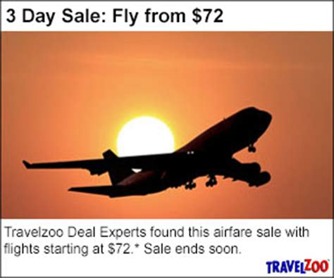 low cost airfares at