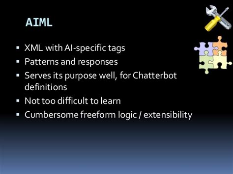 pattern aiml ai and python developing a conversational interface using
