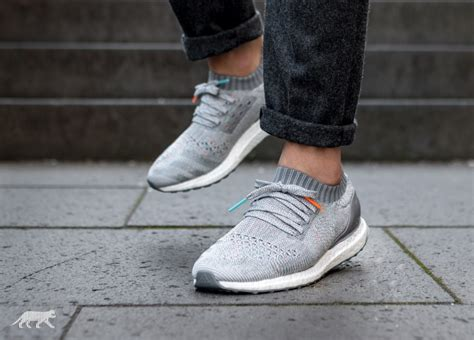 Adidas Ultra Boost Uncaged Grey Primeknit adidas ultra boost uncaged clear grey mid grey grey asphaltgold