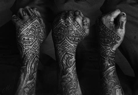 bandana tattoo design bandana sleeve www pixshark images