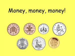 money coin recognition resources tes