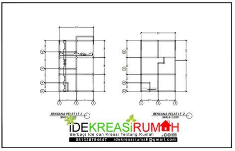 desain rumah  lantai minimalis kecil ukuran    meter  gratis ide kreasi rumah