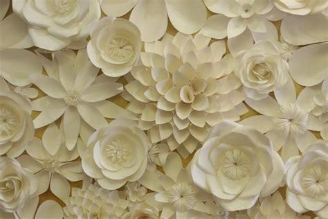 Wedding Backdrop With Paper Flowers by Best Paper Flowers Wedding With Paper Flowers