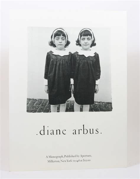 diane arbus an aperture 1597111759 diane arbus an aperture monograph promotional poster diane arbus 1st edition