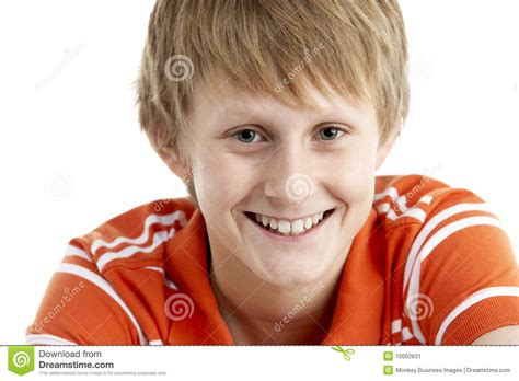 12 year old boy portroets portrait of smiling 12 year old boy stock image image