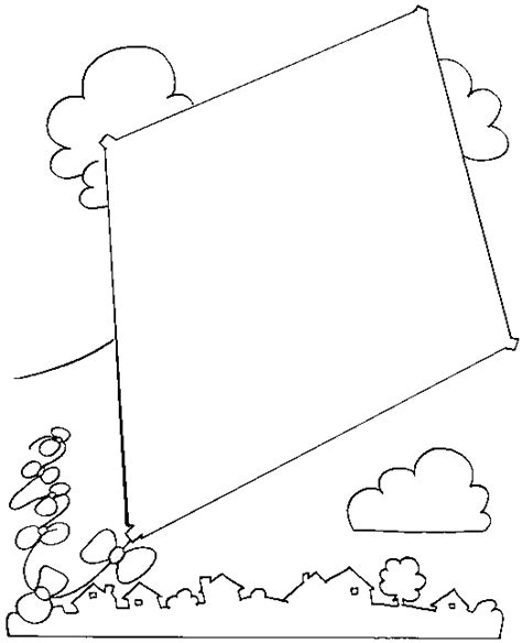 spring kite coloring page νηπιαγωγός από τα πέντε οι χαρταετοι μασ kite