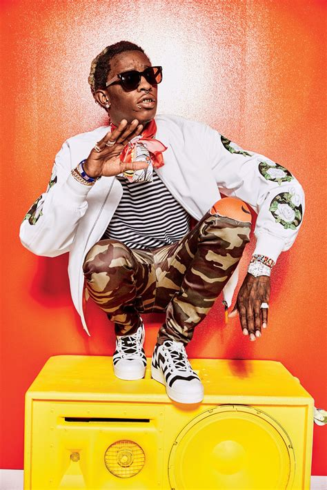 young thug gq young thug proves high fashion has gone crazy which makes