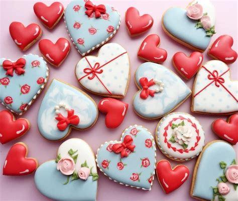 valentines decorated cookies best 20 cookies ideas on pink
