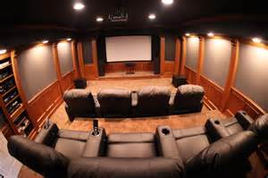Home Interiors Sconces Home Theater Room Traditional Home Theater Detroit