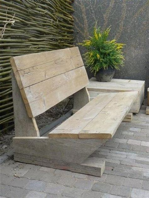 build simple outdoor bench recycled pallet garden bench plans recycled pallet ideas